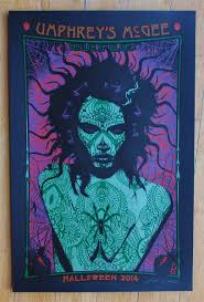 inside the rock poster frame blog umphrey u0027s mcgee adam pobiak