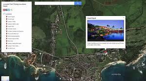 Jurassic Park Map Kauai Jurassic Park Filming Locations Info U0026 Map Video