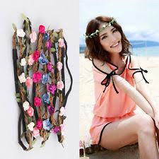 floral headband floral festival headband women s accessories ebay