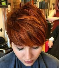 Tolle Kurzhaarfrisuren Damen by Die Besten 25 Kurze Haare Kupfer Ideen Auf Copper