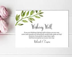 bridal shower wish honeymoon printable etsy