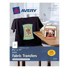 avery t shirt transfers for inkjet printers 8 1