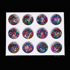 online shop tomtosh 12pcs colorful 26 nail english alphabet metal