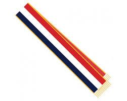 blank sashes white blue parade sash