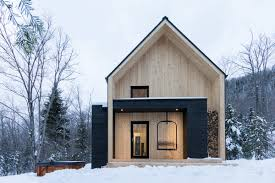 modern barn design villa boréale is a clean lines scandinavian inspired modern barn