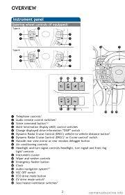 toyota highlander hybrid 2017 xu50 3 g quick reference guide