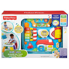 fisher price around the town learning table fisher price laugh learn reg smart stages learning table target