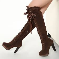 womens knee high boots boots boots cross straps knee high boots thigh high