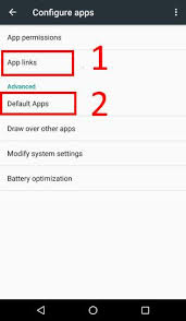 reset android to default how to manage use and reset default apps in android marshmallow
