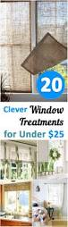 20 clever window window treatments for under 25 window house