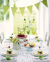 Easter Breakfast Table Decorations by 60 Easter Table Decorations Decoholic