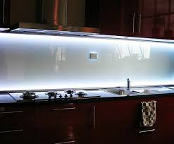 led backsplashes backlit glass backsplash our sink has no cabinets above it for