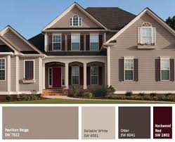 exterior paint color combinations for homes house paint color