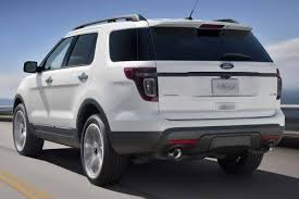 ford explorer trunk space 2014 ford explorer cargo space specs view manufacturer details