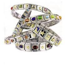 silver link bracelet charms images 1 teacher italian link bracelet charm jpeg