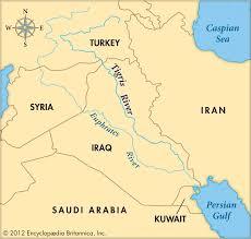 Jordan River Map The Garden Of Eden U2013 Black History In The Bible