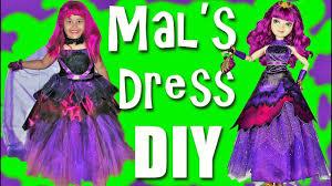 mal costume descendants 2 costumes dress up diy mal dress