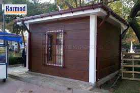 build container house in modern city office containers