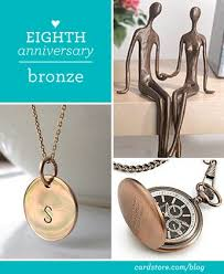 bronze anniversary gifts awesome 8th wedding anniversary gift ideas for him images styles
