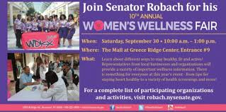 Greece Ridge Mall Map by 10th Annual Women U0027s Wellness Fair Kids Out And About Rochester