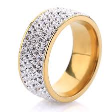 crystal rings wholesale images 5 row crystal jewelry free shipping wholesale 18k gold plated jpeg