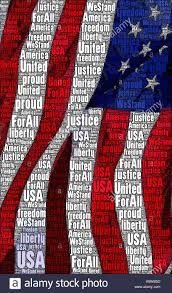 American Flag Words Red White Blue Striped Flag Stock Photos U0026 Red White Blue Striped