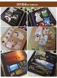 creative photo albums additional gift 4major gift leather vintage handmade diy photo