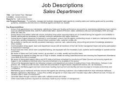 Call Center Job Description For Resume by Sample Call Center Hierarchy 8 13 07
