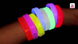 glow bracelets deluxe wide glow bracelets