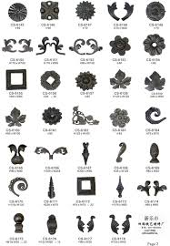 cast and forged wrought iron ornaments purchasing souring