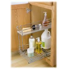 kitchen sink cabinet organizer shelves delightful lynk roll out under sink cabinet organizer