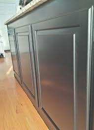 painting raised panel kitchen cabinet doors brushes vs foam