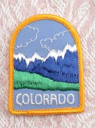Colorado travel irons images 533 best patches images travel patches vintage jpg
