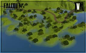 Fallout World Map by Mod The Sims Fallout Deadbolt Valley A Post Apocalyptic World