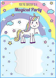 birthday invitation template unicorn free printable birthday invitation template