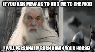 Gandalf Meme - image a grey gandalf jpg the lord of the rings minecraft mod