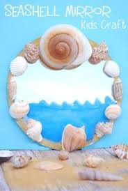 Seashell Craft Ideas For Kids - how to make a seashell picture frame google search craft and google