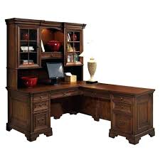 Cherry Desk With Hutch Landon Desk With Hutch Office Desk With Hutch L Shaped Desk Hutch