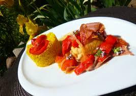 cuisine poulet basquaise poulet basquaise au micro minute la recette facile par toqués 2
