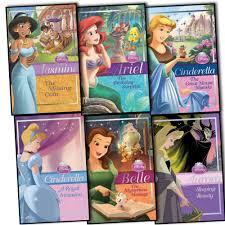 disney princess chapter book 6 books collection aurora