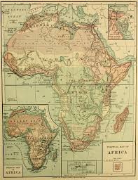 Map If Africa by Map Of Africa 1886