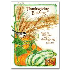 thanksgiving blessings thanksgiving card