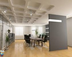modern white and grey wall office interior concepts that can be