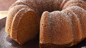 moist pumpkin tube cake recipe taste of home