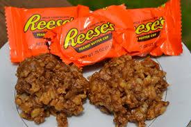 reese u0027s rice krispies treats u2013 mrs happy homemaker