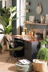 bureau de maison tendance déco garden bureau des plantes maisons du monde