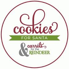 cookies for santa plate silhouette design store view design 52227 cookies for santa