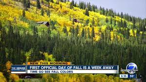 Colorado Fall Colors Map by Here Are Some Of The Best Places To See Fall Color In Colorado