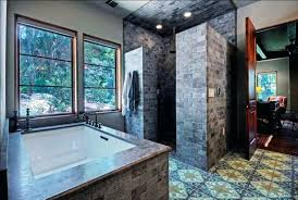shower ideas bathroom doorless walk in shower ideas bathroom with shower also