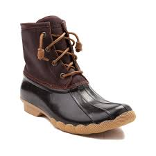 womens boots journeys boots womens sperry top sider saltwater boot brown beautiful